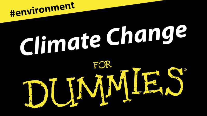 Climate change for dummies – infographic