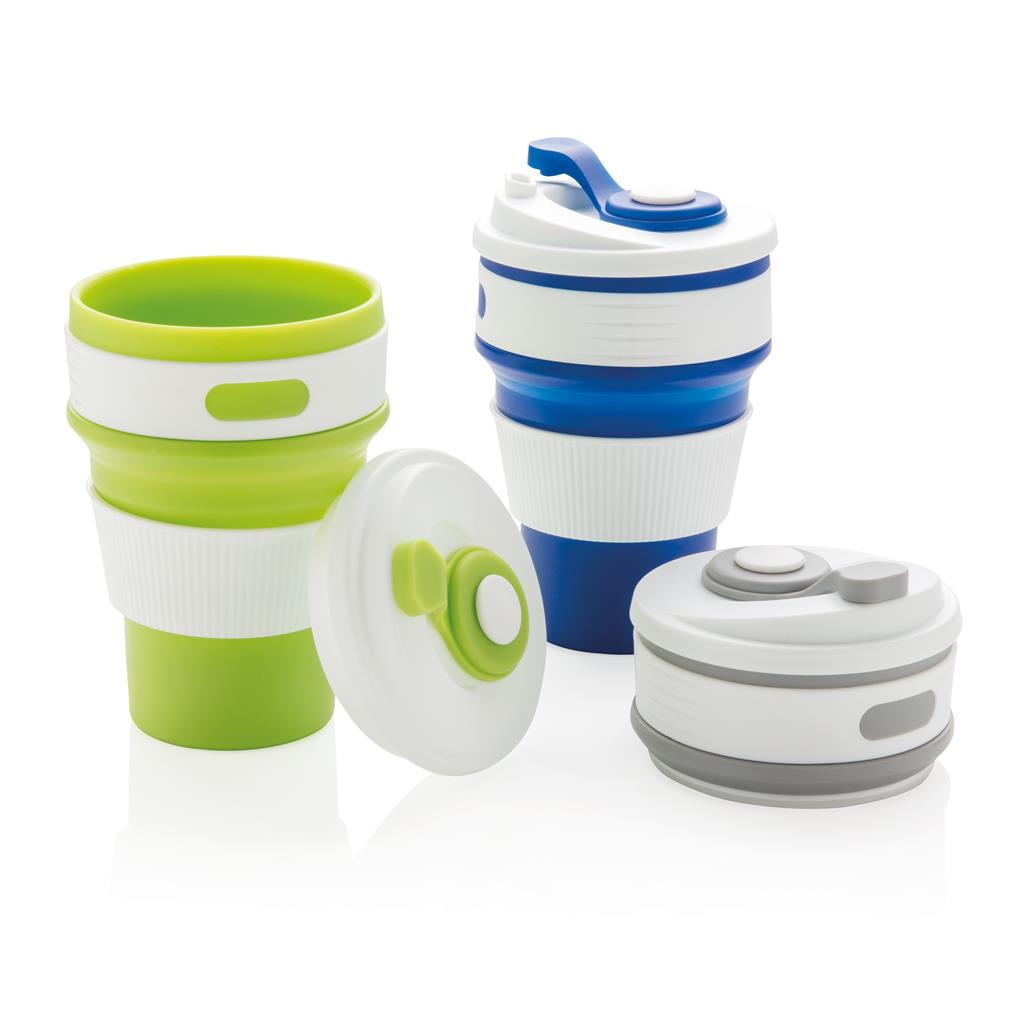 Collapsable coffee cups