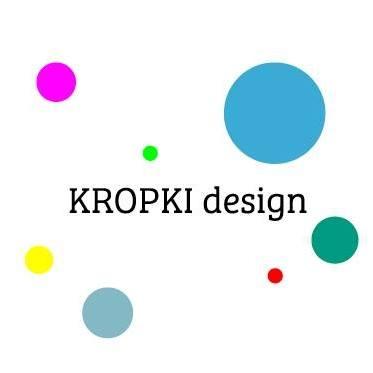 Kropki design logo