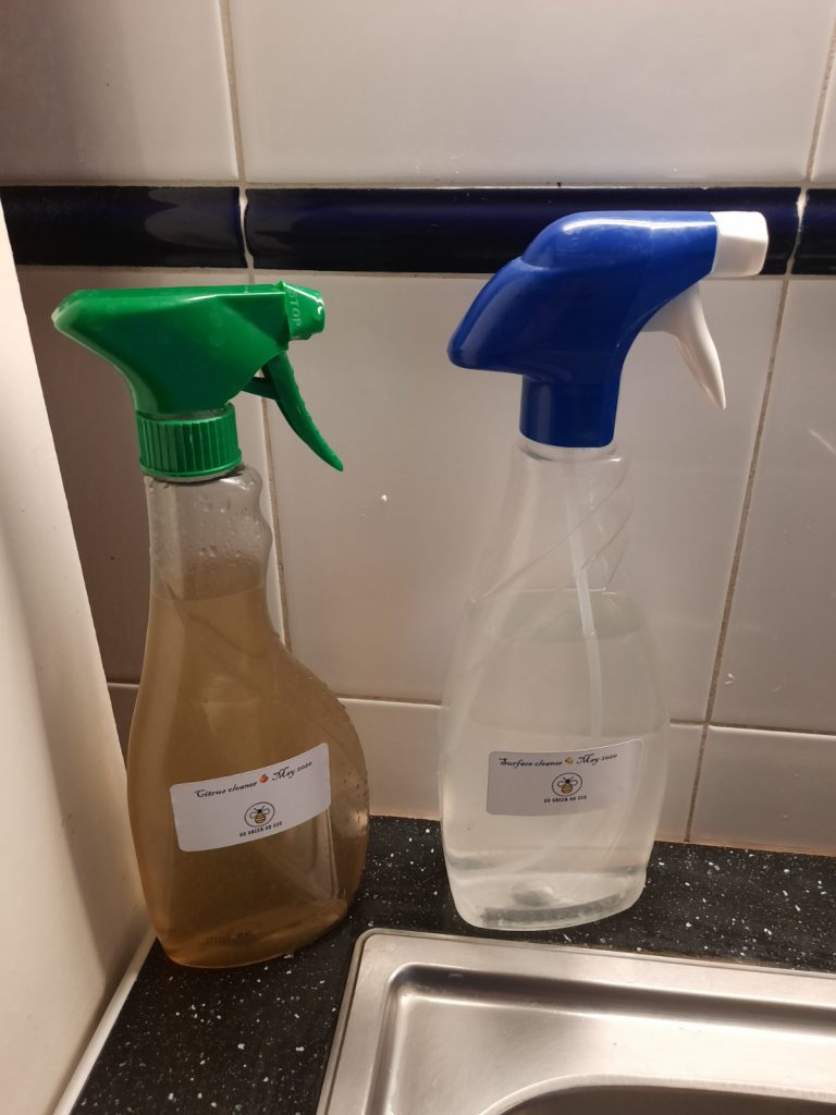 Natural cleaners final products