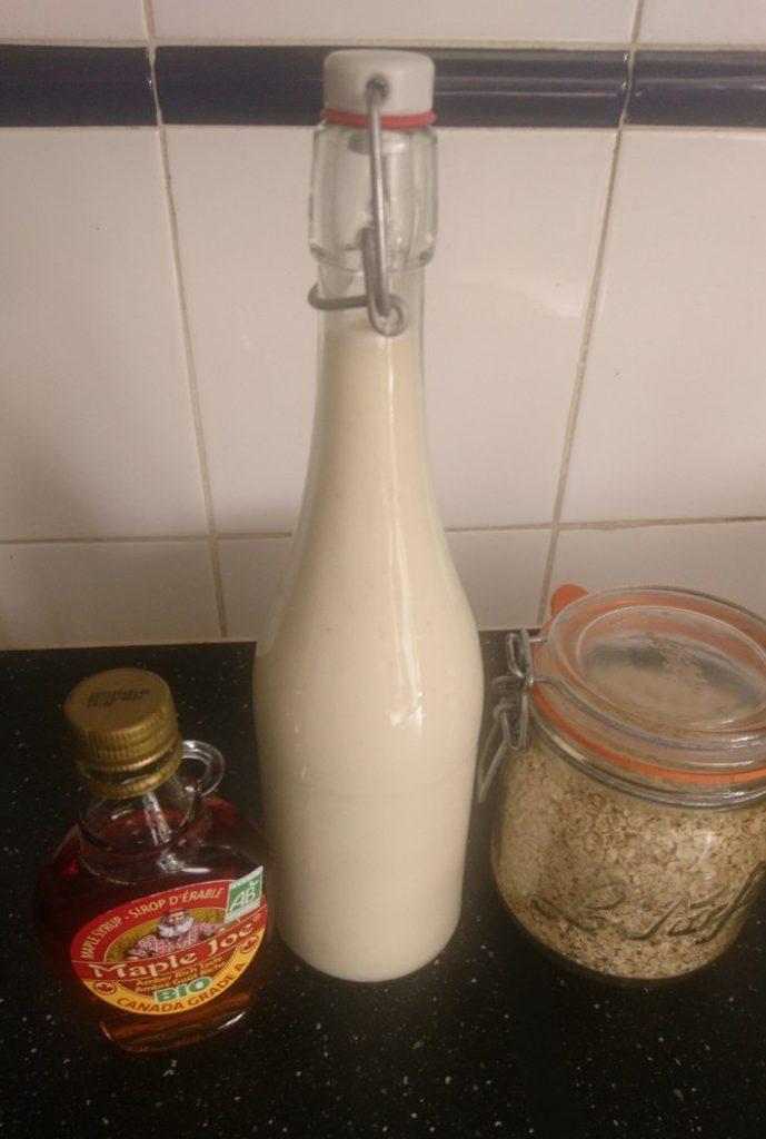 Oats milk ready