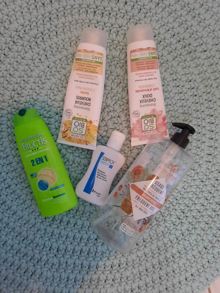 Shampoo bar - plastic bottles