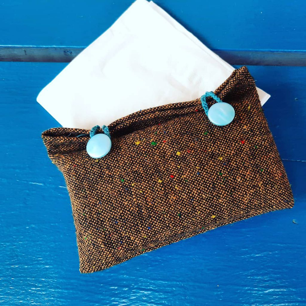 Carrier for tissues